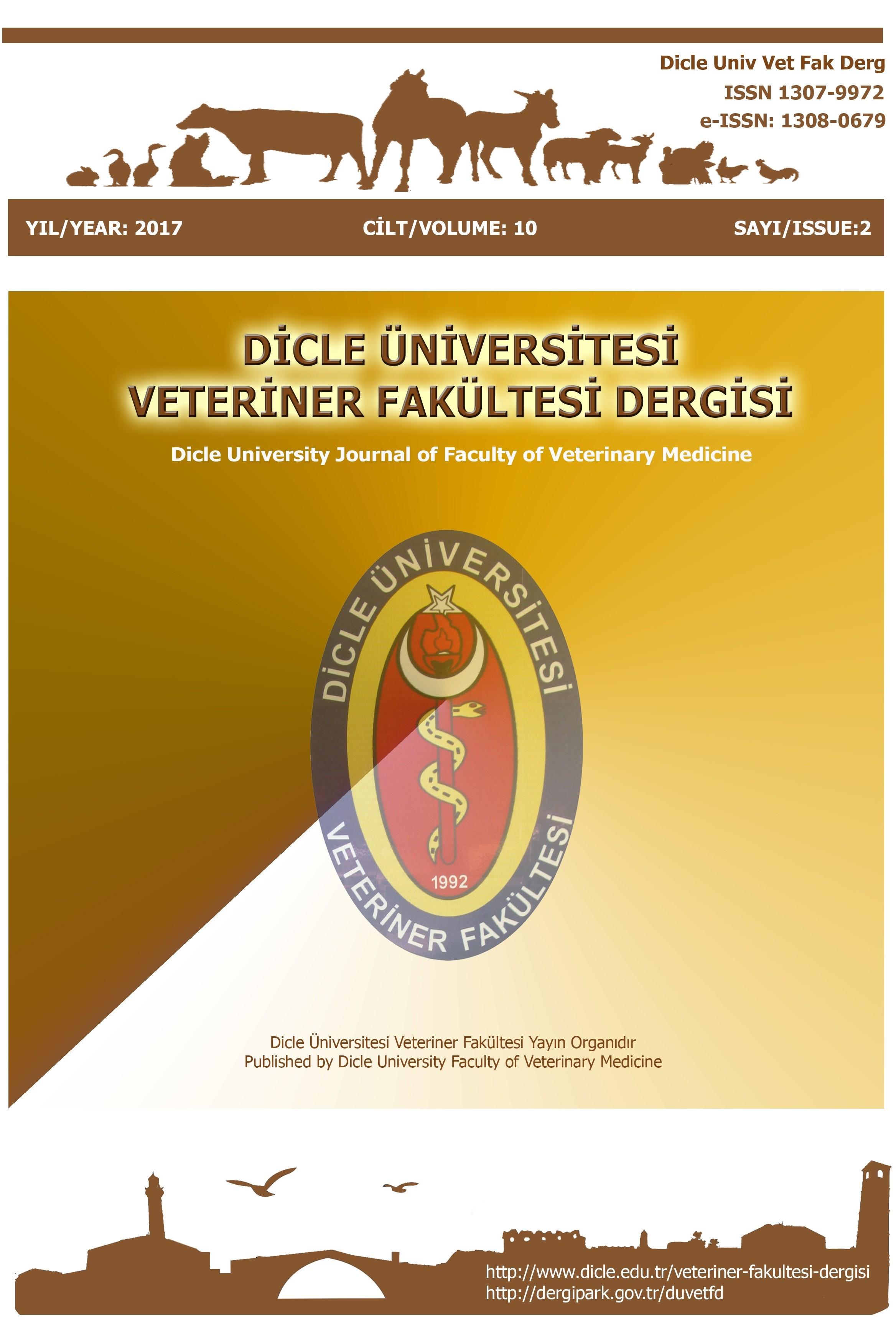 Dicle Üniversitesi Veteriner Fakültesi Dergisi